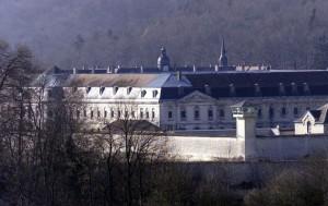 la prison de CLAIRVAUX (cliché Alain JULIEN)
